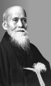 The founder of Aikido, Morihei Ueshiba also called Osensei